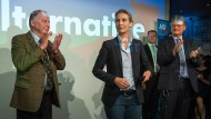 Wahlparty der AfD im Berliner Traffic Club