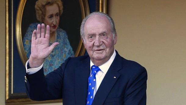 Juan Carlos und das Zimmer voller Geldscheine