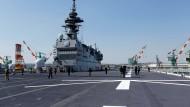 Das japanische Militärschiff Izumo