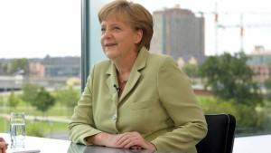 Merkel: Ich habe nicht nachgegeben