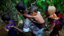 270.000 Rohingyas fliehen aus Burma
