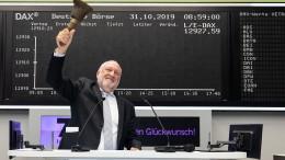 Börsenglocke zum Geburtstag