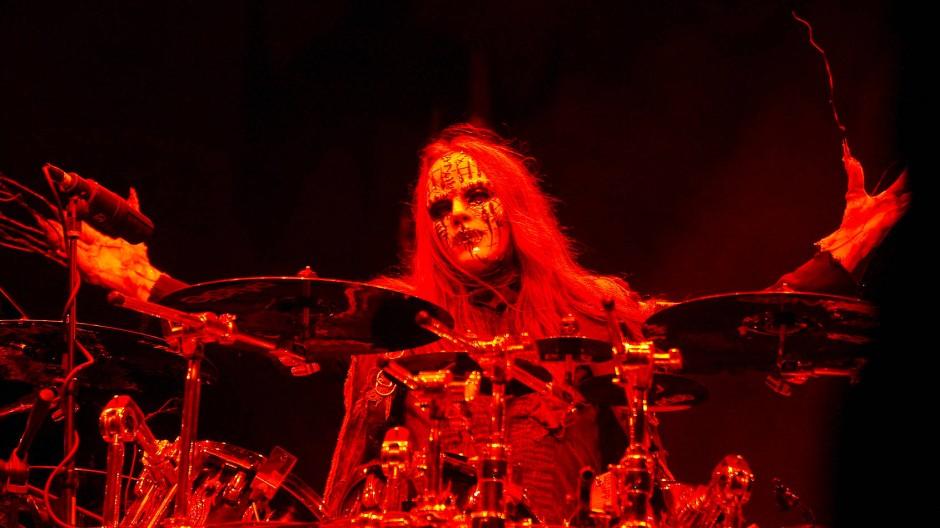 Joey Jordison bei einem Konzert in Ohio im Jahr 2009