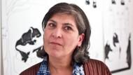 Muss sich im Iran dem Gericht stellen: Die iranische Künstlerin Parastou Forouhar.