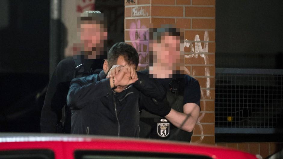 Festnahmen nach Großrazzia in Berlin