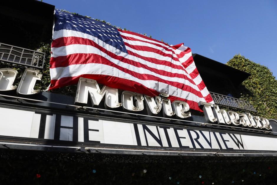 """Wie hier in Los Angeles wird """"The Interview"""" nun in ganz Amerika in den Kinos gezeigt"""