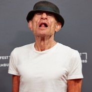"Klaus Lemke bei der Premiere seines Films ""Bad Boy Lemke"""