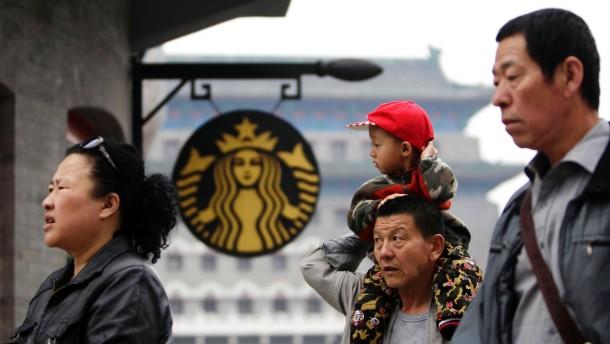 China beschwert sich über Starbucks