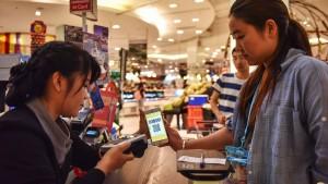 Alibaba macht das Bargeld überflüssig