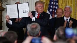 Trump ordnet Schaffung einer Weltraumarmee an
