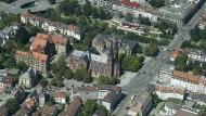 Die Johanneskirche in Freiburg, in deren Nähe sich die tödliche Auseinandersetzung abgespielt haben soll
