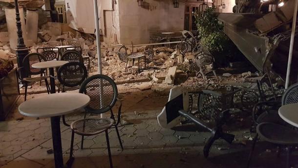 Tote und Verletzte nach Seebeben in der Ägäis