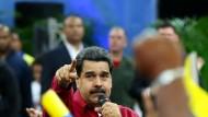 Granaten auf Venezuelas Parlament abgefeuert