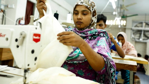 Feuersturm in der Textilbranche