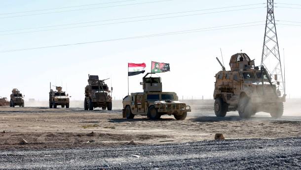 IS-Kämpfer in Mossul eingekreist
