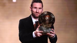 Messi und Rapinoe gewinnen Ballon d'Or