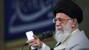 Irans Staatsführer weist amerikanisches Verhandlungsangebot zurück
