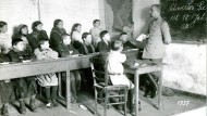 Eine deutsche Kriegsschule in Feindesland