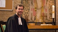 Hofft auf Gottesdienstbesucher: Pfarrer Fred Balke