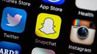 Snapchat ist zurzeit die angesagteste App unter Jugendlichen.