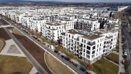 Ende mit Schrecken: Im ABG-Quartier Riedberg-Mitte wohnte Familie L. bis zum Sommer 2020.