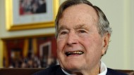 George H.W. Bush auf Intensivstation