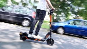 Deutschlands erste E-Tretroller werden in Herne verliehen