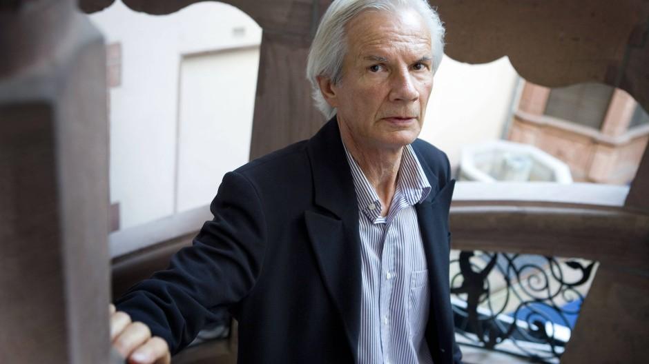 Michael Buselmeier bei der Verleihung des Deutschen Buchpreises im Jahr 2011.