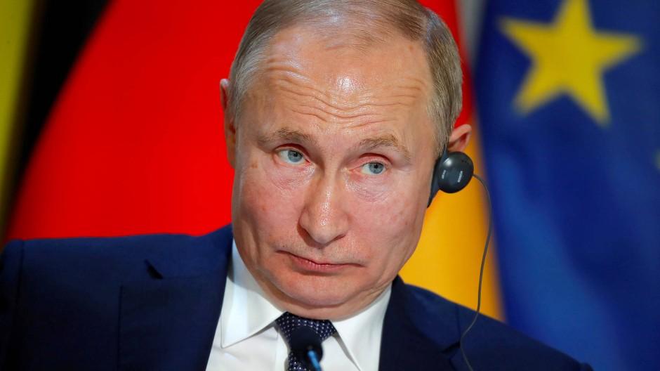 Putin nannte das Mordopfer in Paris blutrünstig.