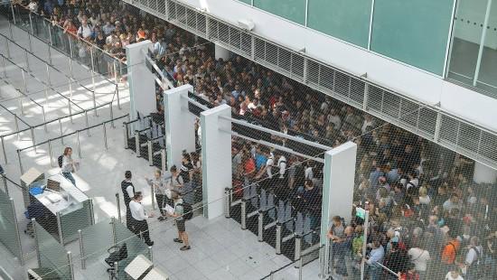 Chaos am Münchner Flughafen