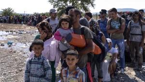 Steinmeier erwartet 40.000 Flüchtlinge an diesem Wochenende