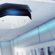 Luftreinhalteplan: Viren und Keime haben keine Chance, wenn sie durch die UV-C-Lampe wabern.