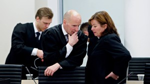 Das Grauen im Gerichtssaal
