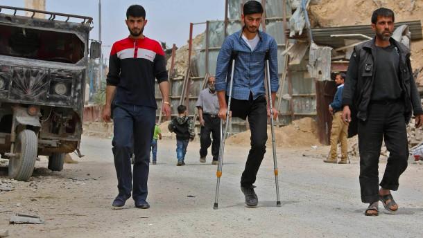 Flüchtlinge kehren zurück nach Ost-Ghouta
