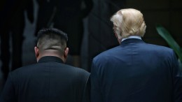 Trump und Kim geben vage Versprechen ab