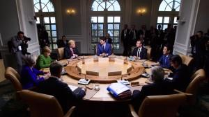 EU lehnt Rückkehr zu G-8-Gipfel mit Russland ab
