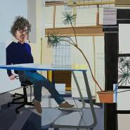 """Jonas Wood, """"The Speller"""", 2007, Öl auf Leinwand, 198,1 mal 248,9 Zentimeter. Zuschlag bei Sotheby's: 1,7 Millionen Dollar"""