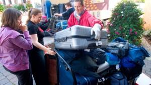 Auf der Jagd nach den verlorenen Schätzen vom Flughafen
