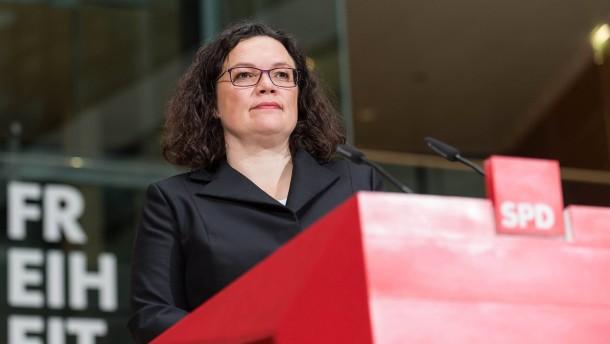 Die Fesseln der SPD