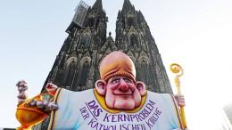 Protest von Missbrauchsopfern der katholischen Kirche
