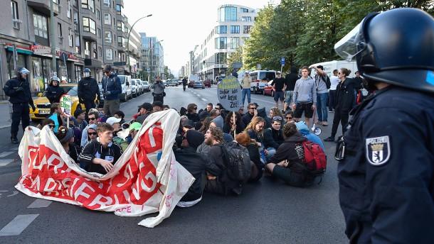 Blockupy demonstriert wieder in Berlin