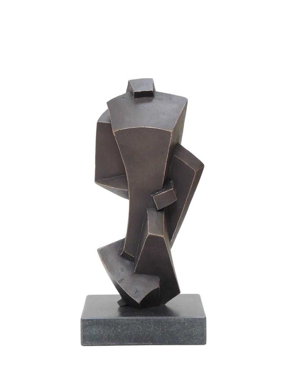 Im KunstRaum Bernusstraße: Peter Vaughan, Komposition 2019, Bronze