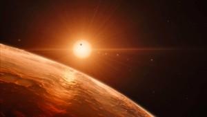 Astronomen entdecken sieben erdähnliche Planeten