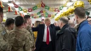 Trump verrät offenbar Standort geheimer Spezialeinheit