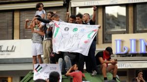 Ausschreitungen bei Anti-Israel-Demonstration