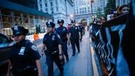 Polizisten in Dallas: Die Stadt ist noch immer im Ausnahmezustand
