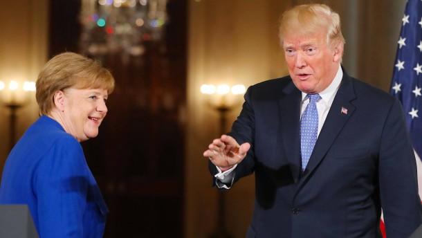 Kanzlerin im Weißen Haus: Das ultimative Ende einer Ära