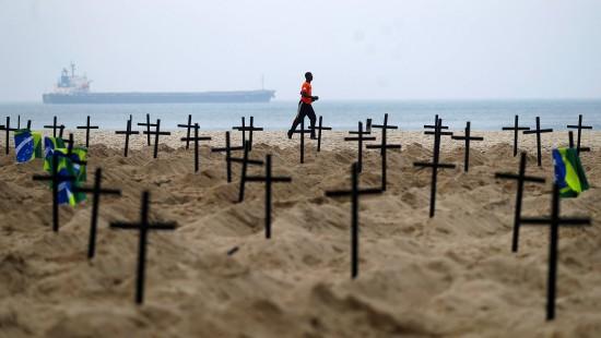Copacabana wird zum Friedhof