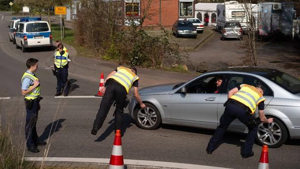 Deutsch-Französische Grenze wieder geöffnet