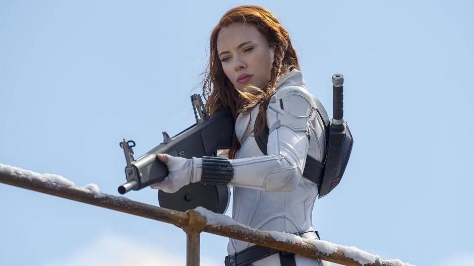 """Mit ihr ist nicht zu spaßen: Scarlett Johansson als """"Black Widow"""""""